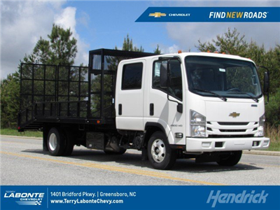 2018 LCF 4500HD Crew Cab 4x2,  PJ's Platform Body Dovetail Landscape #MH4166 - photo 1