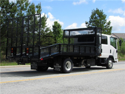2018 LCF 4500HD Crew Cab 4x2,  PJ's Platform Body Dovetail Landscape #MH4166 - photo 2