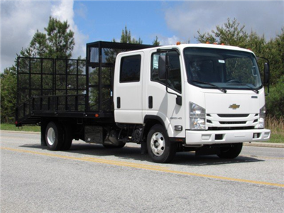2018 LCF 4500HD Crew Cab 4x2,  PJ's Platform Body Dovetail Landscape #MH4166 - photo 3