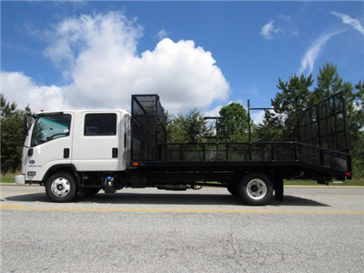 2018 LCF 4500HD Crew Cab 4x2,  PJ's Platform Body Dovetail Landscape #MH4166 - photo 7
