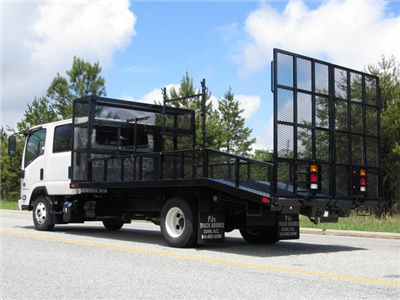 2018 LCF 4500HD Crew Cab 4x2,  PJ's Platform Body Dovetail Landscape #MH4166 - photo 8