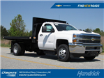 2018 Silverado 3500 Regular Cab DRW 4x2,  Knapheide Platform Body #MH4311 - photo 1