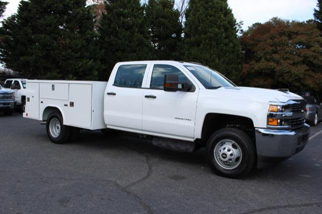 2018 Silverado 3500 Crew Cab DRW 4x4,  Service Body #MH4762 - photo 3