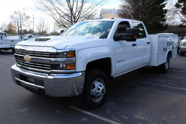 2018 Silverado 3500 Crew Cab DRW 4x4,  Service Body #MH4762 - photo 4