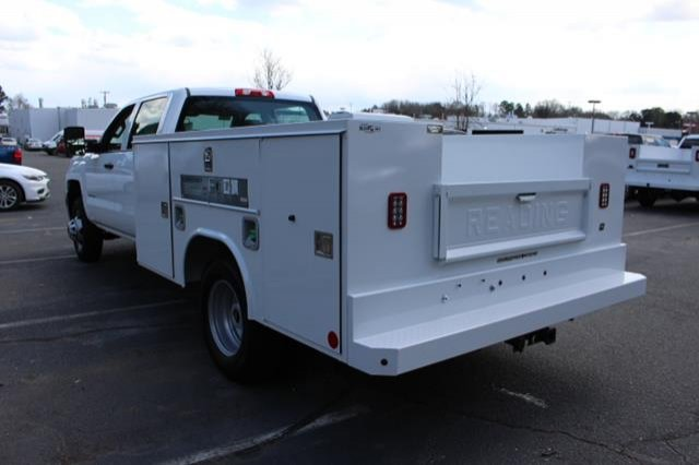 2018 Silverado 3500 Crew Cab DRW 4x4,  Service Body #MH4762 - photo 6