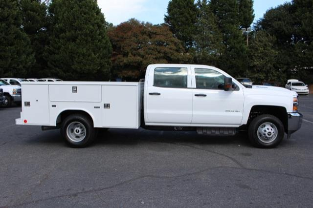 2018 Silverado 3500 Crew Cab DRW 4x4,  Service Body #MH4762 - photo 8