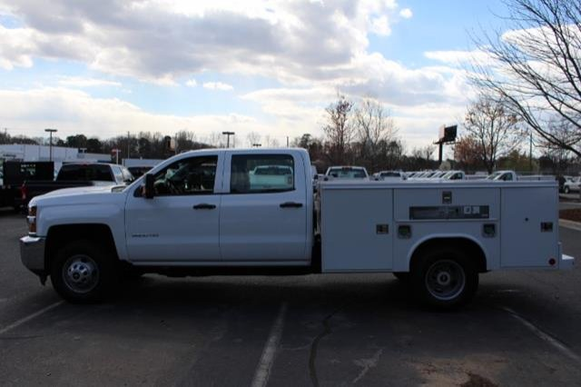 2018 Silverado 3500 Crew Cab DRW 4x4,  Service Body #MH4762 - photo 9