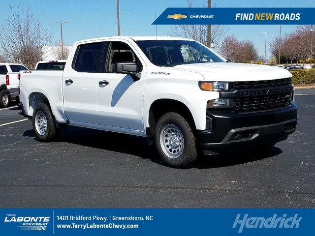 2019 Silverado 1500 Crew Cab 4x4,  Pickup #MI5211 - photo 1