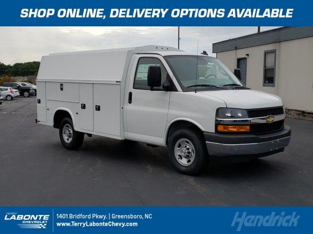 2019 Chevrolet Express 3500 4x2, Knapheide Service Utility Van #MI5827 - photo 1