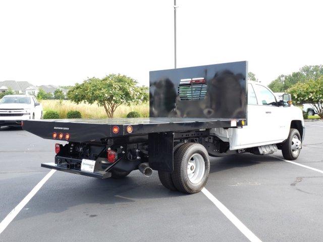 2019 Silverado 3500 Crew Cab DRW 4x4, Freedom Workhorse Platform Body  (Stock #MI5958)