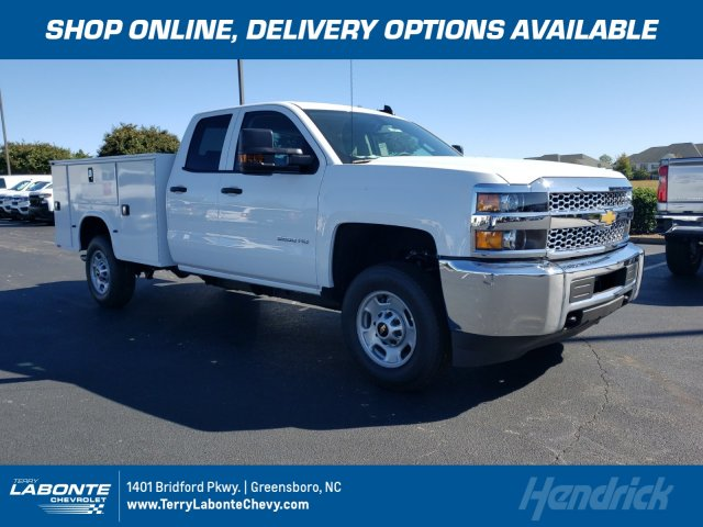 2019 Silverado 2500 Double Cab 4x2, Knapheide Service Body #MI6437 - photo 1