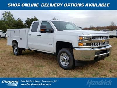 2019 Silverado 2500 Double Cab 4x2, Reading SL Service Body #MI6635 - photo 1