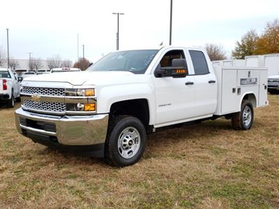 2019 Silverado 2500 Double Cab 4x2, Reading SL Service Body #MI6635 - photo 7