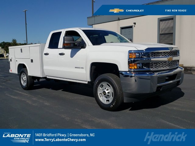 2019 Silverado 2500 Double Cab 4x2, Reading Service Body #MI6654 - photo 1