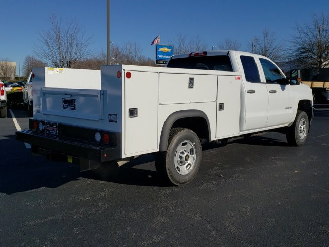 2019 Silverado 2500 Double Cab 4x2, Monroe Service Body #MI6689 - photo 1