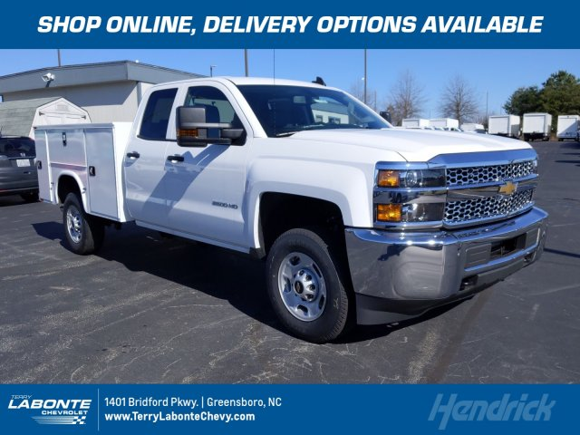 2019 Silverado 2500 Double Cab 4x4, Knapheide Service Body #MI7120 - photo 1