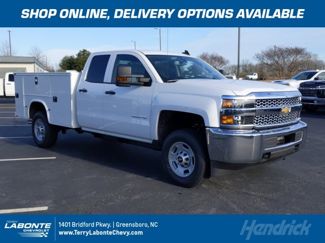 2019 Silverado 2500 Double Cab 4x4, Knapheide Service Body #MI7121 - photo 1