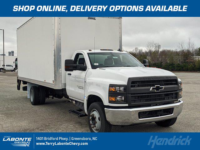 2019 Chevrolet Silverado Medium Duty Regular Cab DRW 4x2, Knapheide Dry Freight #MI7800 - photo 1
