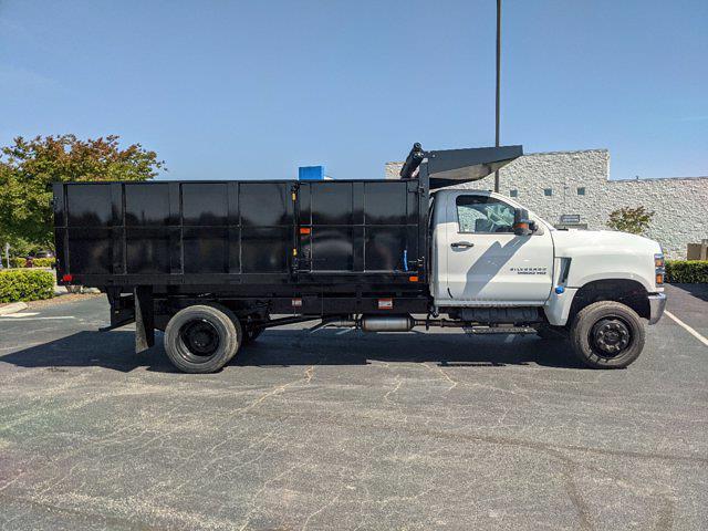 2020 Chevrolet Silverado Medium Duty Regular Cab DRW 4x4, PJ's Landscape Dump #MJ8513 - photo 3