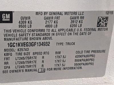 2016 Silverado 2500 Crew Cab 4x4,  Pickup #SA5406A - photo 31