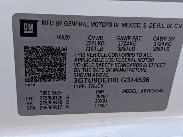 2020 Sierra 1500 Crew Cab 4x4,  Pickup #SA5659 - photo 33
