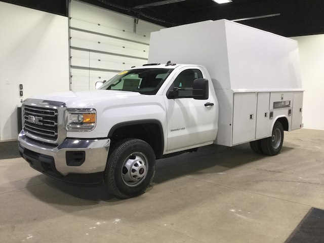 2018 Sierra 3500 Regular Cab DRW 4x2,  Reading Service Utility Van #40382 - photo 3
