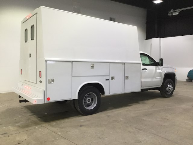 2018 Sierra 3500 Regular Cab DRW 4x2,  Reading Service Utility Van #40382 - photo 2