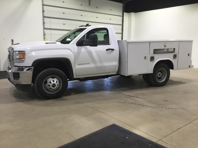 2018 Sierra 3500 Regular Cab DRW 4x2,  Reading Service Body #40450 - photo 4