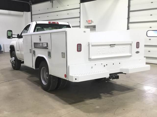 2018 Sierra 3500 Regular Cab DRW 4x2,  Reading Service Body #40450 - photo 2