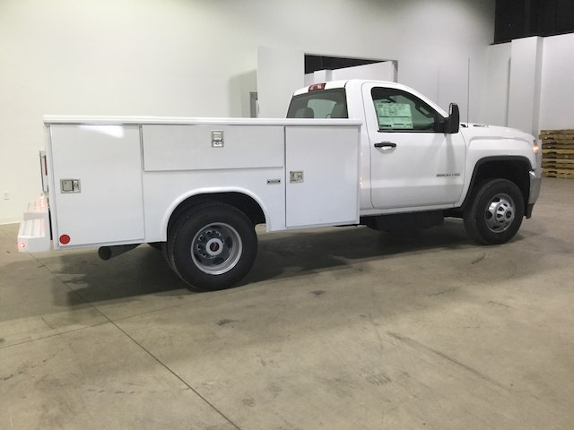 2018 Sierra 3500 Regular Cab DRW 4x2,  Reading Service Body #40450 - photo 3