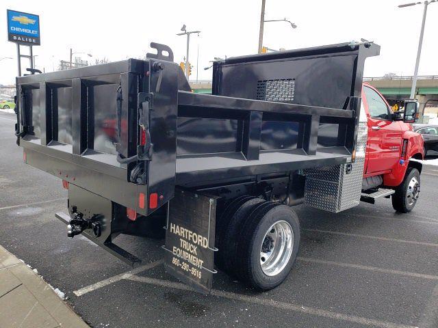 2020 Chevrolet Silverado 5500 Regular Cab DRW 4x4, SH Truck Bodies Dump Body #C48877 - photo 1