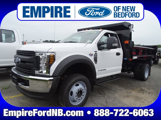 2019 F-550 Regular Cab DRW 4x4, Rugby Eliminator LP Steel Dump Body #F1011 - photo 1