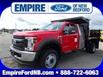 2019 F-550 Regular Cab DRW 4x4, SH Truck Bodies Dump Body #F1057 - photo 1