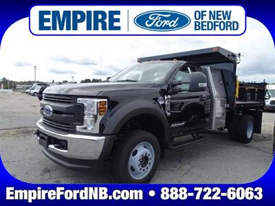 2019 F-550 Regular Cab DRW 4x4,  SH Truck Bodies Dump Body #F1058 - photo 1