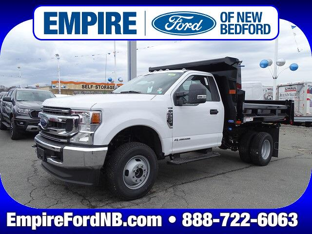 2021 Ford F-350 Regular Cab DRW 4x4, Rugby Dump Body #F1859 - photo 1