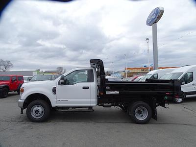 2021 Ford F-350 Regular Cab DRW 4x4, Rugby Eliminator LP Steel Dump Body #F1859 - photo 2