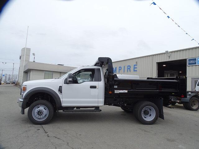 2020 Ford F-550 Regular Cab DRW 4x4, Rugby Dump Body #F1865 - photo 1