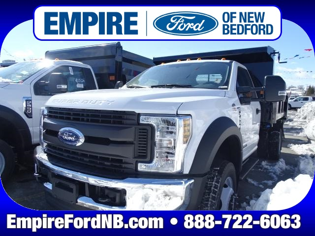 2018 F-550 Regular Cab DRW 4x4,  Rugby Eliminator LP Steel Dump Body #F254 - photo 1