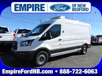 2018 Transit 350 Med Roof 4x2,  ReeferTek Refrigerated Body #F329 - photo 1