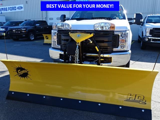2019 F-250 Regular Cab 4x4,  Fisher Snowplow Pickup #F548 - photo 3