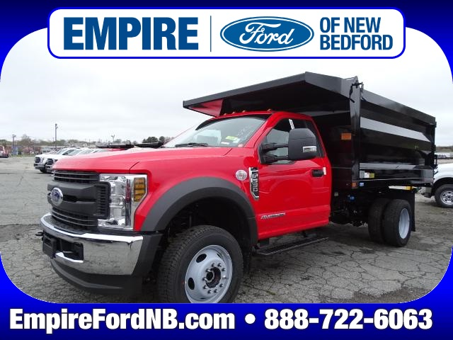 2019 Ford F-550 Regular Cab DRW 4x4, Rugby Landscape Dump #F906 - photo 1