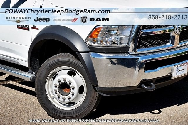 2017 Ram 5500 Regular Cab DRW 4x2,  Scelzi Contractor Body #C14859 - photo 4