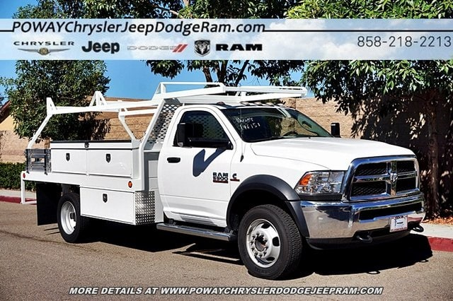 2017 Ram 5500 Regular Cab DRW 4x2,  Scelzi Contractor Body #C14859 - photo 6
