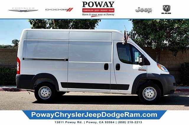 2018 ProMaster 2500 High Roof FWD,  Sortimo Shelf Staxx Upfitted Cargo Van #C15545 - photo 7