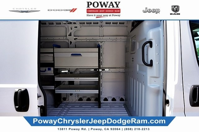 2018 ProMaster 2500 High Roof FWD,  Sortimo Shelf Staxx Upfitted Cargo Van #C15545 - photo 17
