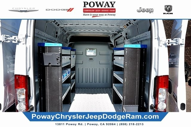 2018 Ram ProMaster 2500 High Roof FWD, Sortimo Upfitted Cargo Van #C15545 - photo 1