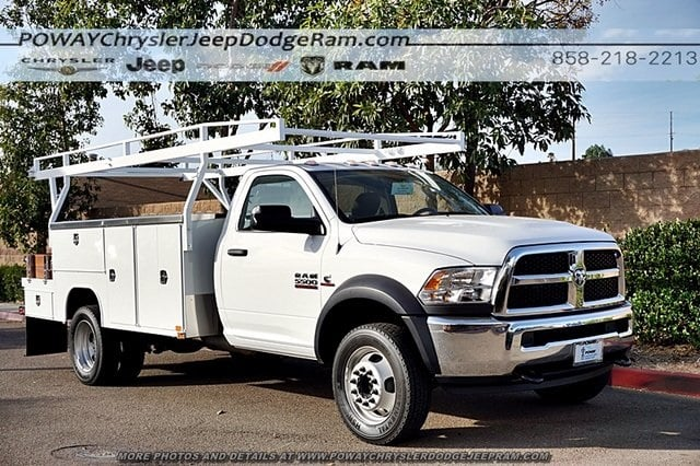 2018 Ram 5500 Regular Cab DRW 4x2,  Harbor Combo Body #C15743 - photo 5