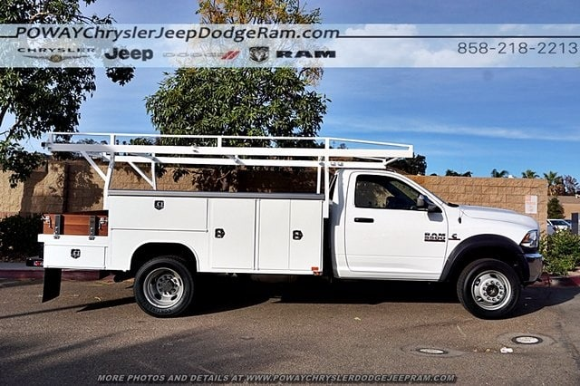 2018 Ram 5500 Regular Cab DRW 4x2,  Harbor Combo Body #C15743 - photo 9