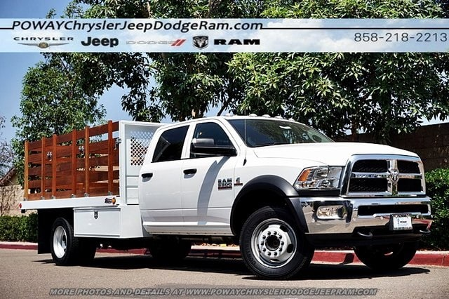 2018 Ram 5500 Crew Cab DRW 4x2,  Bedco Truck Equipment Stake Bed #C15833 - photo 35