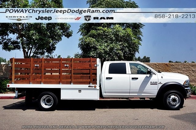 2018 Ram 5500 Crew Cab DRW 4x2,  Bedco Truck Equipment Stake Bed #C15833 - photo 38